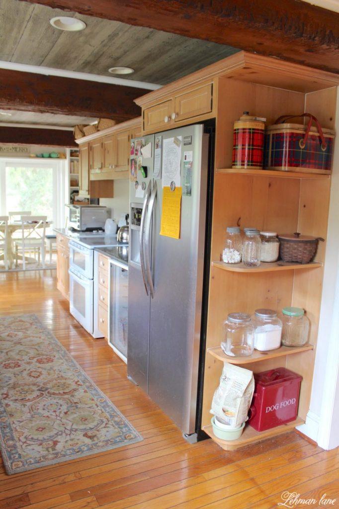 Farmhouse Kitchen Renovation - the Plan - fridge
