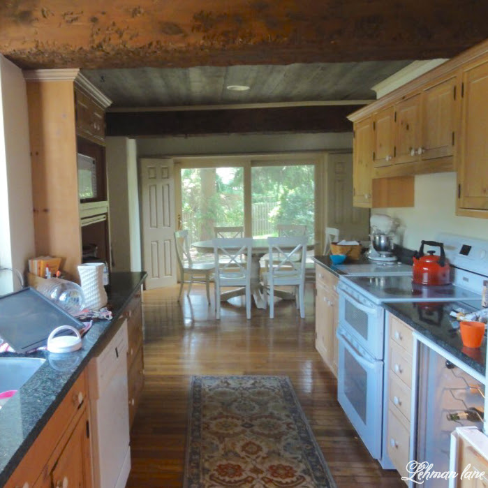 New Electric Stove & kitchen reno progress - before pic of kitchen and oven