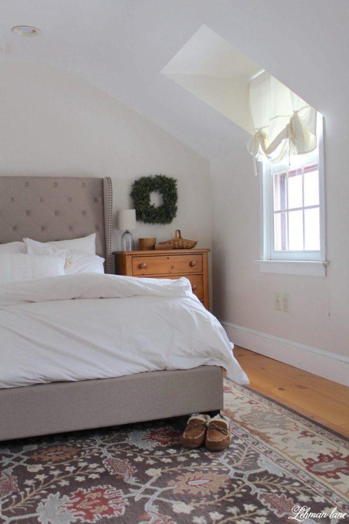 Farmhouse Master Bedroom Refresh - #farmhousebedroom http://lehmanlane.net