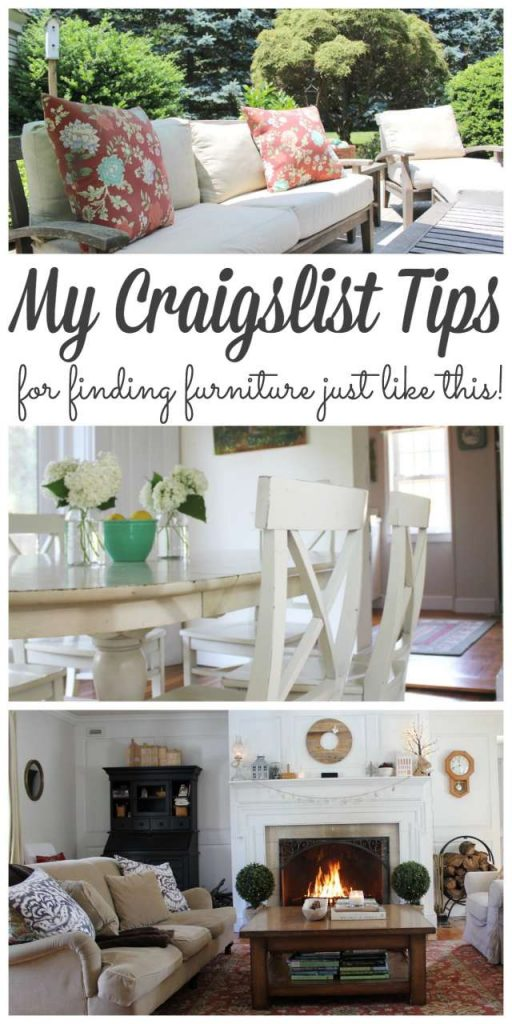 Over the past few years we have scored some amazing designer brand furniture finds on Craigslist! Stop by to see my tips for finding the best deals on Craigslist! https://lehmanlane.net