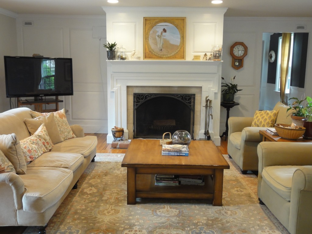 Living Room Refresh - Paint Goes A Long Way - lehmanlane.net