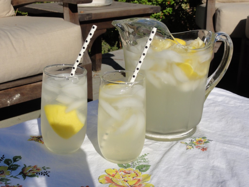 Making homemade lemonade is very simple and easy to do! Nothing beats it on a hot summer day!