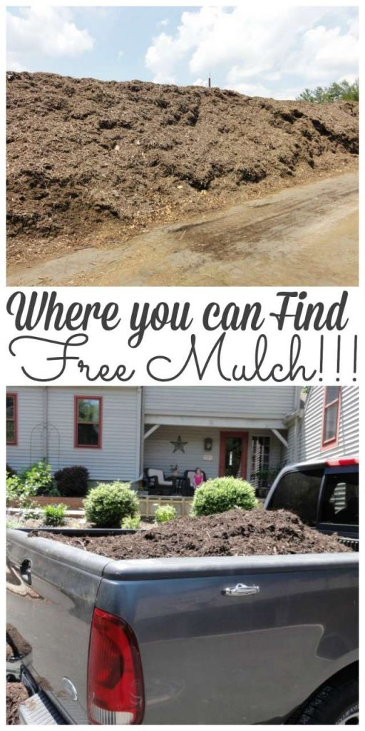 Landscaping can be really expensive! Stop by to see where we get mulch for Free!!! #gardening #budgetgardening #mulch http://lehmanlane.net