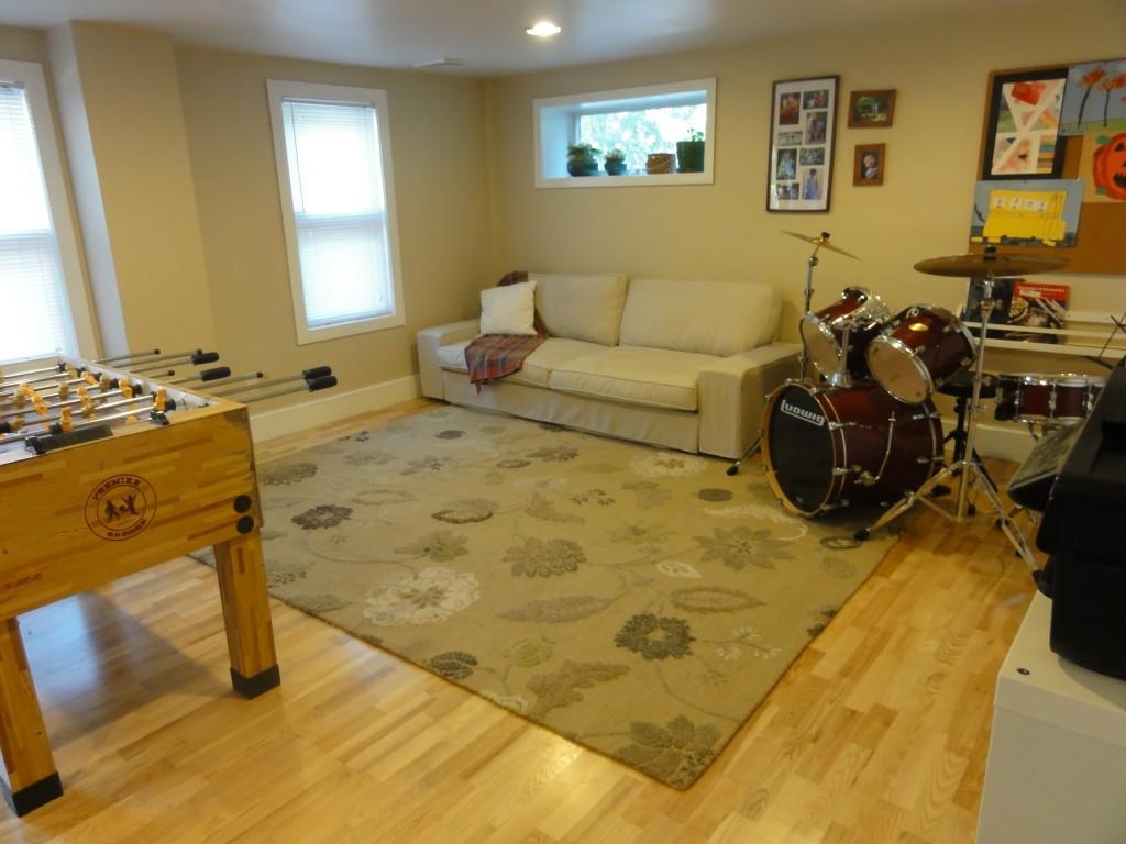 basement before