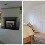 Master Bedroom - custom closets on a budget