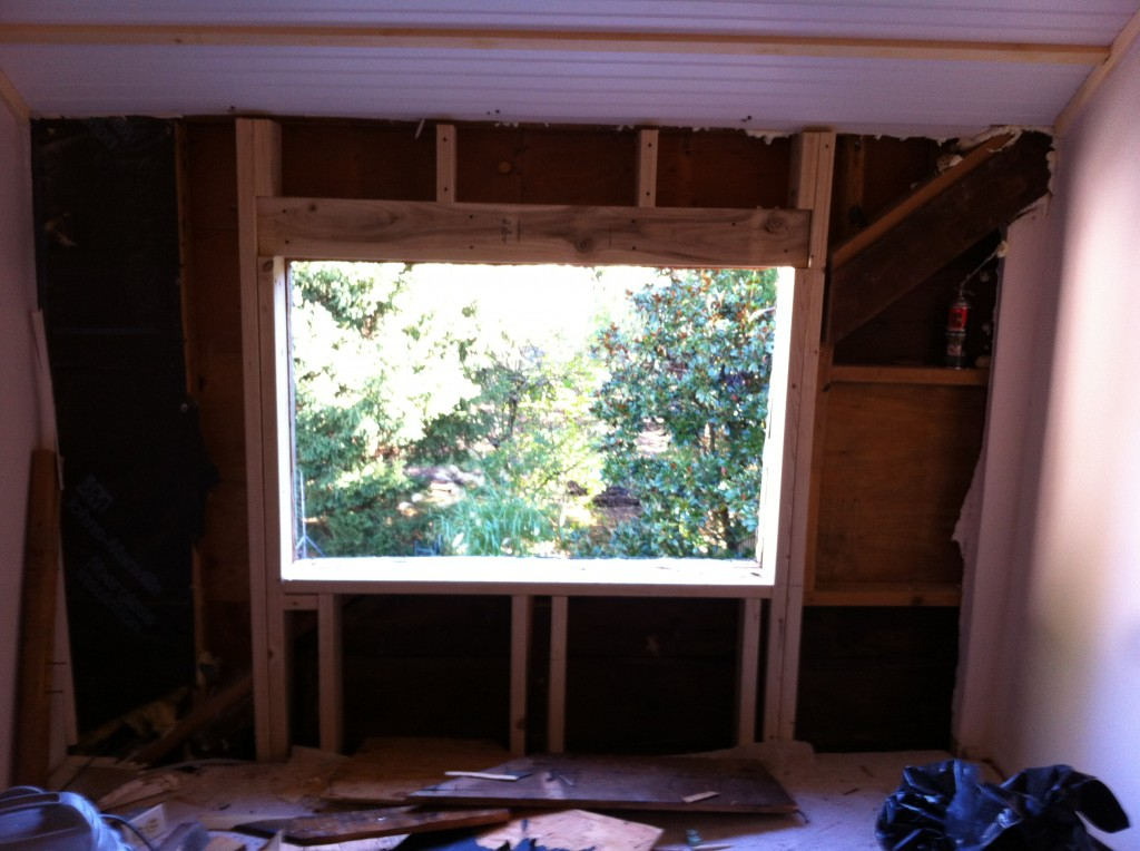 How To Add A New Window An Old House Tucker S Room
