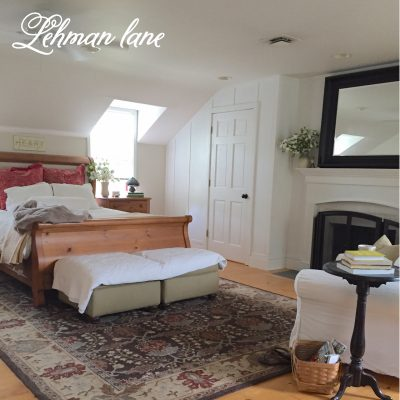 Master Bedroom Reveal - from our Farmhouse #masterbedroom #farmhousebedroom https://lehmanlane.net