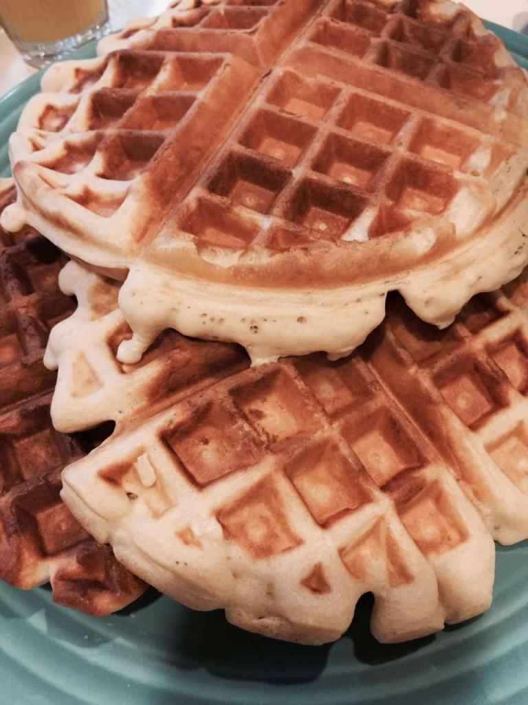 Sharing my Nana Kay's homemade waffles recipe from scratch. #waffles https://lehmanlane.net