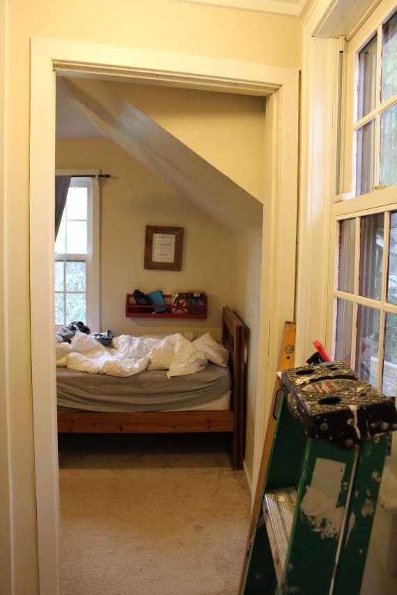 ORC Week 1 - Boys built in bedroom before