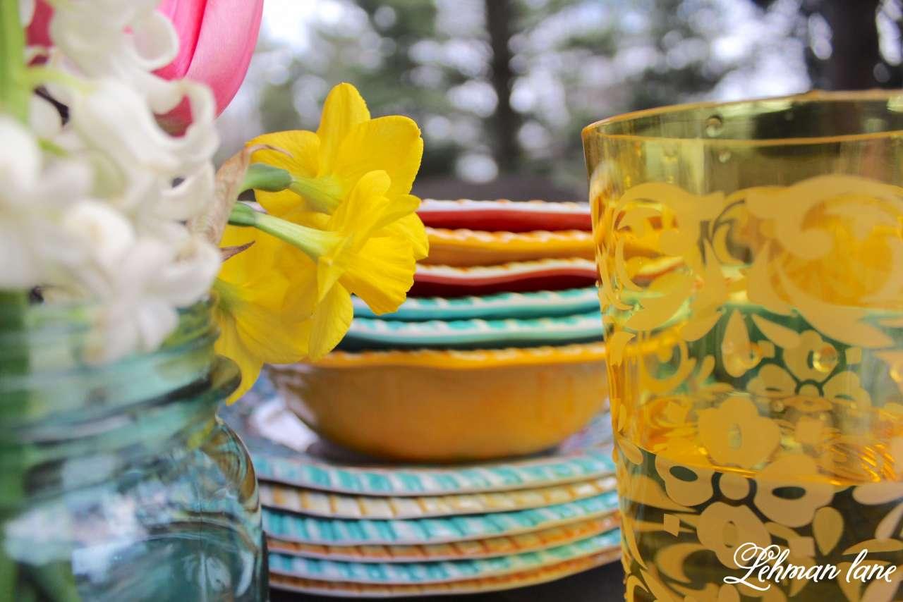 Patio Refresh - Spring Tablescape