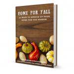 Fall decorating Ideas- Home for fall e-book