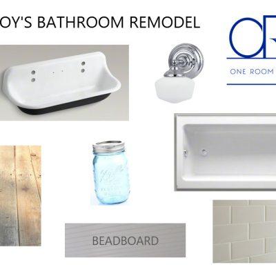 ORC - boys bathroom ideas and remodel