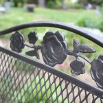 Spray Paint Patio Furniture - Vintage Wrought Iron Patio Set for less than $50!