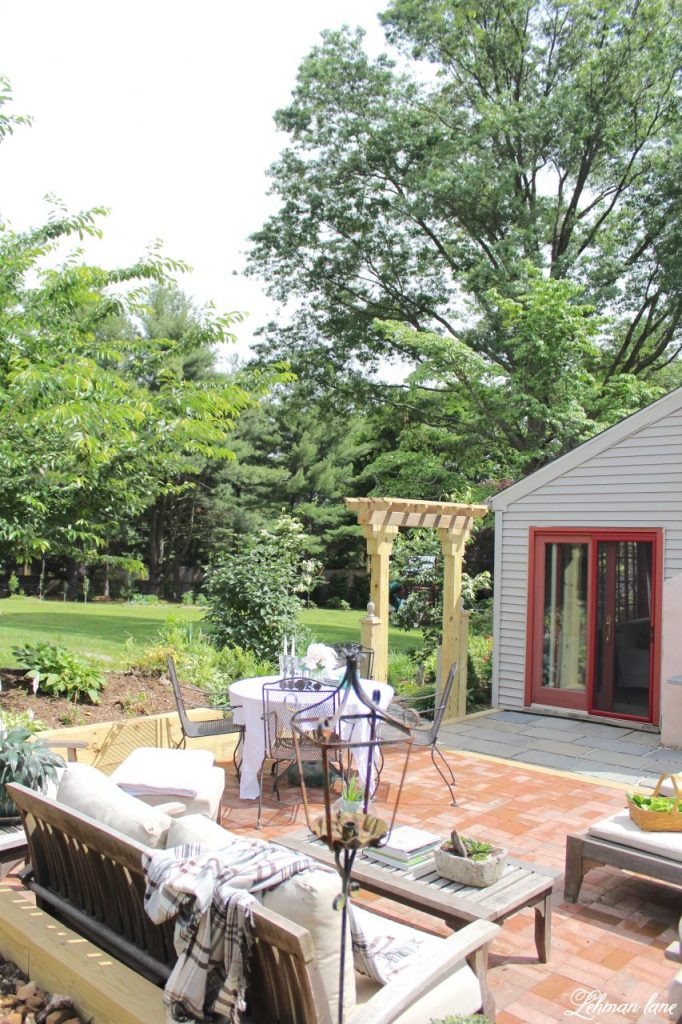 Back Patio Makeover Reveal - Lehman Lane on Backyard Patio Makeover id=19871