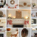 13 Fireplace Mantel Decorating Ideas for the Whole Year