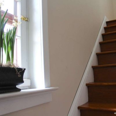 DIY - Refinishing Our Farmhouse Stairs- window