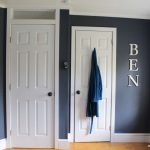 How we changed the doorway in our son's bedroom and added a transom window