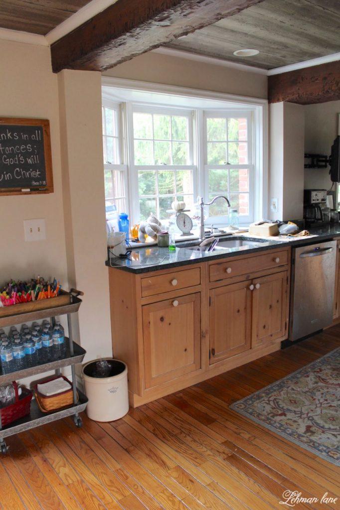 Farmhouse Kitchen Renovation - the Plan - sink