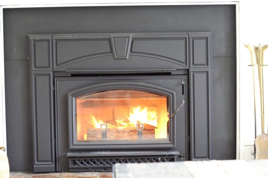 Wood Stove Insert Last Year We Were Left With A Broken Pellet And Had
