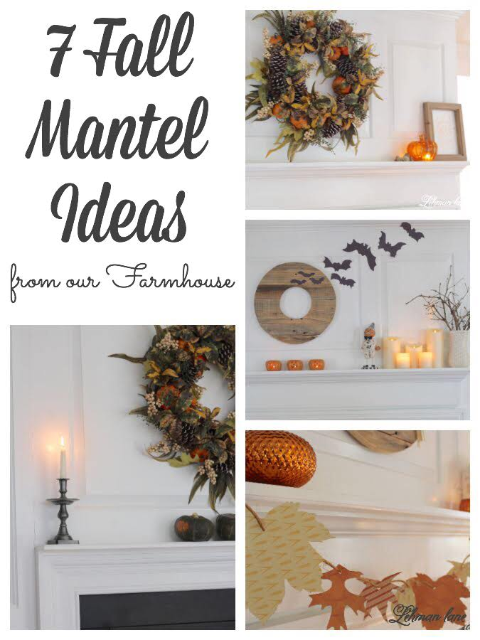 7 Of The Best Classic Fall Mantel Decor Ideas Lehman Lane