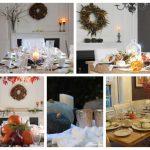 5 Simple Fall Table Ideas for Thanksgiving -With Thanksgiving right around the corner I am sharing 5 Fall table ideas from our farmhouse #thanksgiving #fallfarmhouse #falltable https://lehmanlane.net
